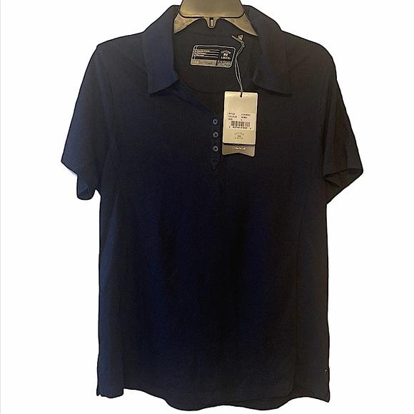 Navy blue Cutter & Buck polo shirt